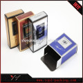 High-end logo printed hot stamping paper perfume box