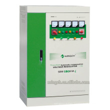 Customed SBW-180k Three Phases Series Compensated Power AC Voltage Regulator/Stabilizer