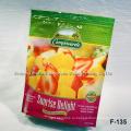 Многослойная ламинированная пользовательская печать Встаньте фруктовый мешок с молнией