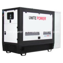 Unite Power 20kw 25kVA Soundproof Isuzu Engine Power Generation