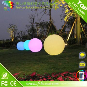Напольный Водоустойчивый свет СИД декоративный светящийся шар