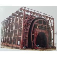 Doublure de chariot double de chariot tunnel à coupe ouverte