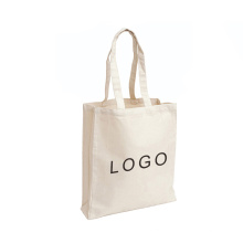 Custom Natural blank plain recycled shopping linen cotton bag canvas tote bag
