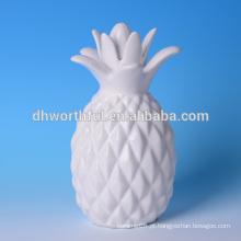 Alta qualidade decoração casa abacaxi cerâmica