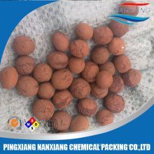 ceramic clay ball for waste water treatment,expanded clay ceramic ball for garden decoration