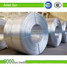 Cable de aluminio de 9,5 mm tipo 1350 aprobado por IEC para trefilado