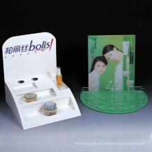 Косметическая Коробка дисплея с ПВХ лоток