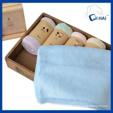 100% Cotton Velvet Towel (QH8891211)