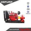 Hochwasserkontrollpumpe Dieselmotorantrieb selbstansaugende Anhängerpumpe
