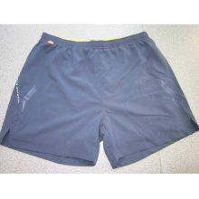 Yj-3019 Black Elastic Stretch Dry Dry Athletic Gym Shorts Hommes