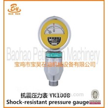 Factory supply YK-100B Pressure Gauge with good price