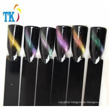 Chameleon magnetic powder pigment for nail gel polish chameleon cat eye powder