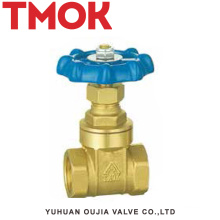 chrome plated with hand wheel brass gate valve