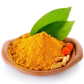 Extracto de cúrcuma natural en polvo 95% curcumina cápsulas de curcumina