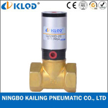 Q22HD-15 2/2 Way Piston Type Brass Material Pneumatic Valve