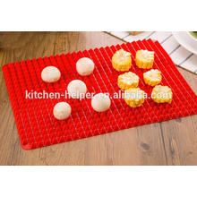 Hot Selling Fahionable Family Silicone Baking Pizza Mat