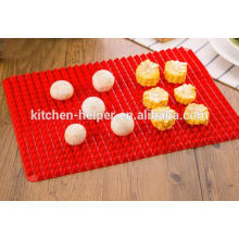 Hot Selling Família Fahionable Silicone Baking Pizza Mat