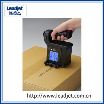 U2 Anser Handheld Inkjet Código de fecha Carton Box Printer