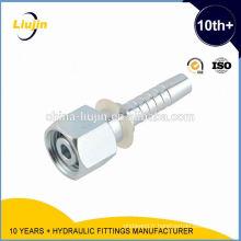 Raccord de raccords de tuyauterie de connecteur hydraulique cnc hydraulique