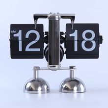 Balance Double Feet Table Flip Clock