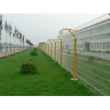 PVC recubierto de malla valla galvanizado alambre malla de alambrada