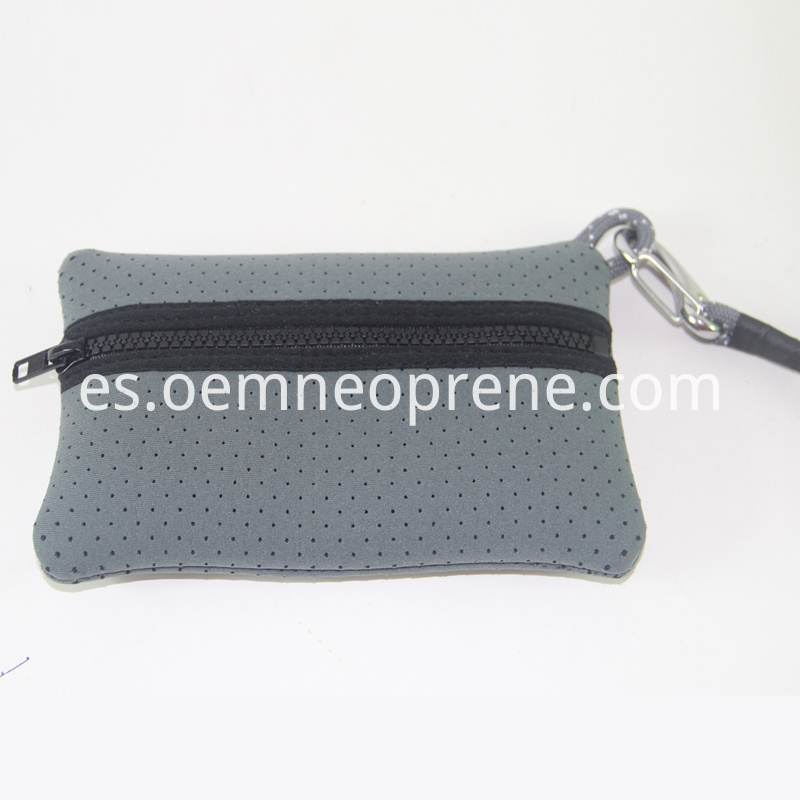grey small pouch