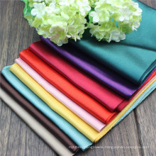 1.3m Smooth Shiny Solid Color 100% Polyester Shiny Silky Satin Fabric for Bedding Linen