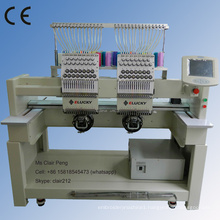 High speed cap n T-shirt embroidery machines for cap/shoes/flat embroidery