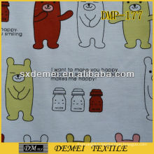 cartoon canvas fabric