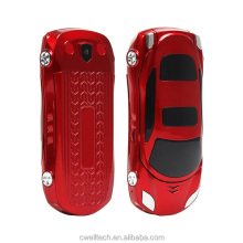 Car shaped Cell NEWMIND F15 Mini Small Size Mobile Phone Dual Sim