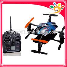 Neues Produkt Spielzeug 2.4g 4 Kanäle vier-aixs rc fliegen Spielzeug ufo mit Kreisel und USB-Fernbedienung quadcopter Großhandel (Z601)