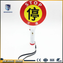 low power 3.6V flashlight transportation led traffic sign