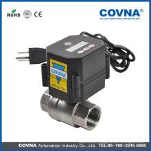 Электрический запорный клапан для воды с хорошим ценовым электрическим запорным клапаном