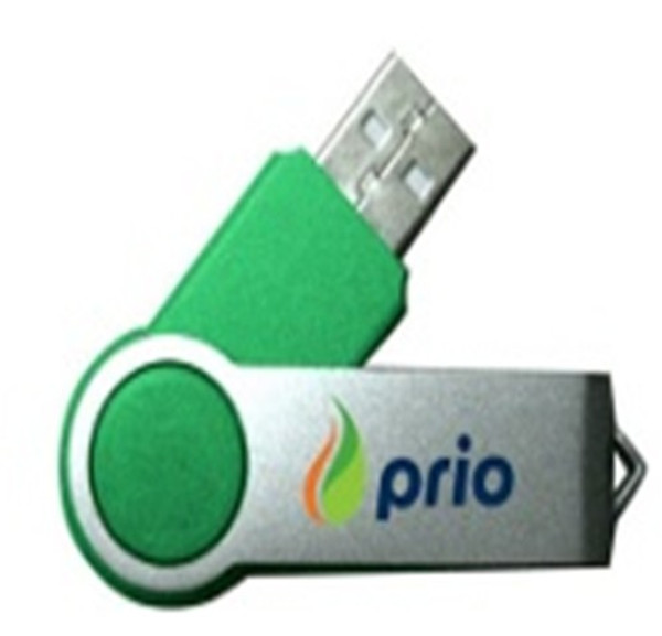 Custom Swivel USB Memory Stick