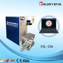 Machine de marquage laser à fibre optique chaude