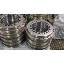 on stock Gcr15 turn table bearing YRT80 rotary table bearing