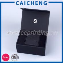 Magnetic closure gift box customized china wholesale jewelry box