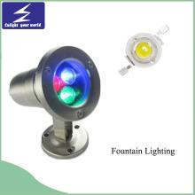 Hochwertige LED begrabenes Licht für Dekoration