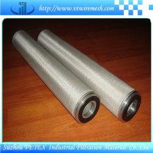 Éléments de filtre en acier inoxydable résistant à l'usure