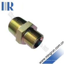 Connecteur de tube d'adaptateur hydraulique mâle NPT (1N)