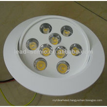 New product adjustable recessed downlight 12W