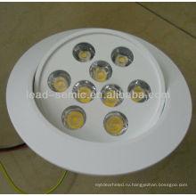 Новый регулируемый встраиваемый светильник 12 Вт