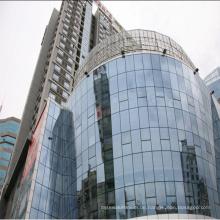 High Rise Building gehärtet Laminated Glasur Glas Vorhangfassade