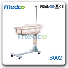 B002 stainless steel hospital baby crib