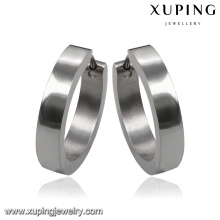 92112 Fashion Simple Stainless Steel Jewelry Earring Hoop in Metal Alloy