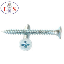 Factory Price High Quality Carbon Steel Zinc Plated Csk Head Screws