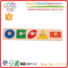 new china products for sale educational puzzle wooden shape toys