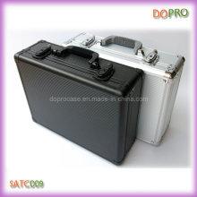 Caja de herramientas de aluminio de material de ABS rayado (SATC009)