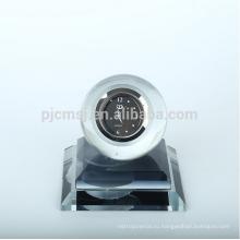 Хороший хрустальный шар часы для автомобилей и украшение стола