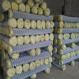 Factory Outlets Galvanized Chain Link Fence